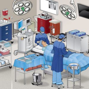 Isometric of Operating Room