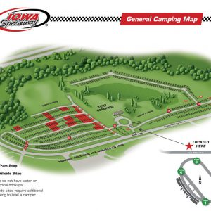 Camping Sites for Iowa Speedway