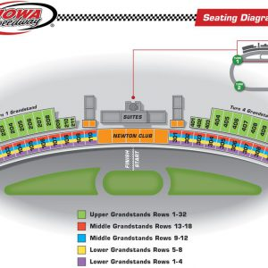 Grandstand Seating Diagram